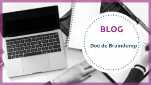Blog Doe de Braindump - TopVA - Technisch VA
