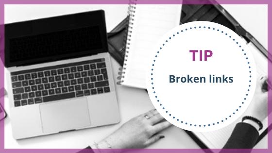 Tip broken link - Top VA - Technisch VA
